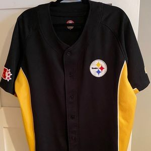 Pittsburgh Steelers Men's XL Baseball Jersey